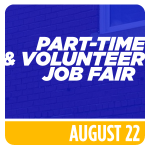Part-Time and Volunteer Job Fair
